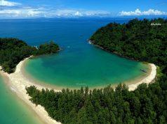 อ่าวเขาควาย เกาะกำตก หมู่เกาะกำ อุทยานแห่งชาติแหลมสน จ.ระนอง