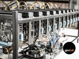 เครื่องขุดเหรียญดิจิทตอล GPU HUB